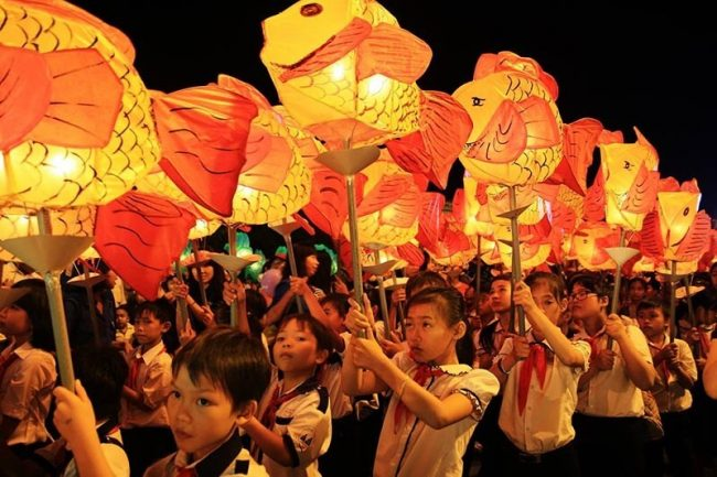 Mid Autumn festival is a children festival