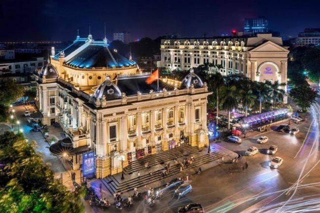 french quarter hanoi opera house